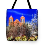 Mission In Silver City Nm Tote Bag