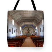 Mission Santa Ines 3 Tote Bag