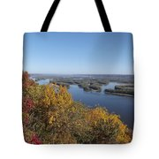 Mississippi River Fall Tote Bag