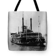 Mississippi Steamboat, 1926 Tote Bag