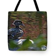 Missy Wood Duck Tote Bag