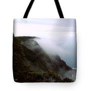 Mists Along The Kalalau Valley Tote Bag