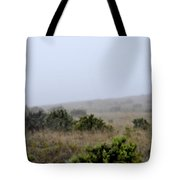 Mists Between The Hills Tote Bag