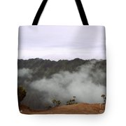 Mists From The Kalalau Valley Tote Bag