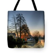 Misty Days And Mondays Tote Bag