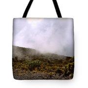Misty Hills Tote Bag