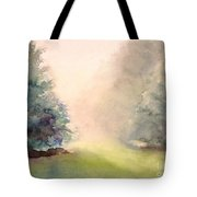 Misty Morning 2 Tote Bag