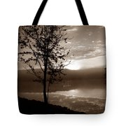 Misty Reflections S Tote Bag