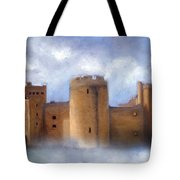 Misty Romantic Scotland Tote Bag