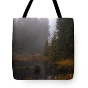 Misty Solitude Tote Bag