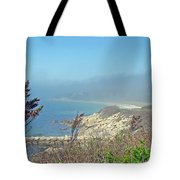 Misty View From Nobska Point - Woods Hole Ma Tote Bag