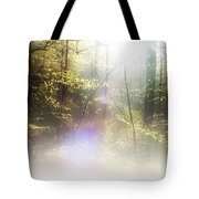Misty Woods Tote Bag
