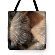 Misty Worm Tote Bag