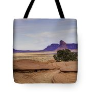 Mitchell Butte From Mystery Valley Tote Bag