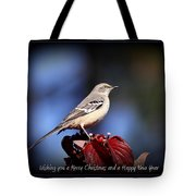 Mockingbird Holidays Tote Bag