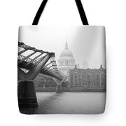 Modern And Traditional London Tote Bag