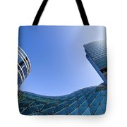 Modern Architecture In Downtown Tote Bag by Artur Bogacki