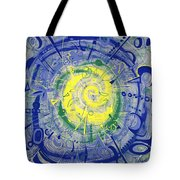 Modern Art Five Tote Bag