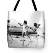 Modern Dance On The Beach Tote Bag