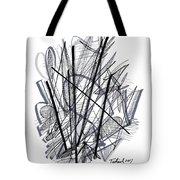 Modern Drawing 112 Tote Bag