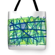 Modern Drawing Ninety-nine Tote Bag