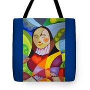 Modern Lisa Tote Bag