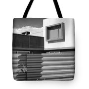 Modern Morrison Bw Palm Springs Tote Bag