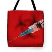 Modern Syringe Tote Bag
