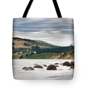 Moeraki Boulder East Coast Of South New Zealand   Tote Bag