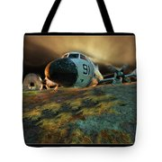 Moffett Field Landing Tote Bag