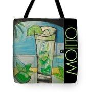 Mojito Poster Tote Bag