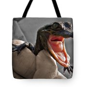 Mommy The Human Caught Me Tote Bag