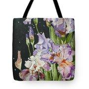 Mom's Night Iris Tote Bag