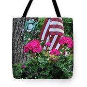 Mom's Pink Geranium  Tote Bag