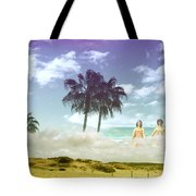 Mom's Tropical Dreams Tote Bag