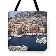 Monaco Harbour Tote Bag