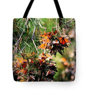 Monarch Butterfly Gathering Tote Bag