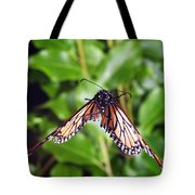 Monarch Butterfly In Flight Tote Bag