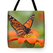 Monarch Butterfly Macro Tote Bag