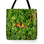 Monarch Butterfly Photograph Tote Bag