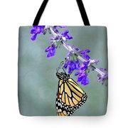 Monarch On Purple Tote Bag
