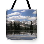Monarch Pass Lake Tote Bag