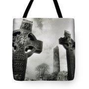 Monasterboice, Co Louth, Ireland, High Tote Bag