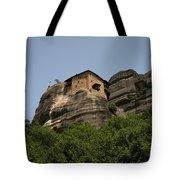 Monastery Of Saint Nicholas Anapafsas Tote Bag