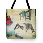 Monastery Of The Virgin Mary Tote Bag