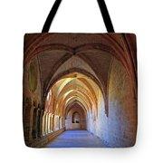 Monastery Passageway Tote Bag