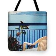 Mondello Bay Sicily Tote Bag