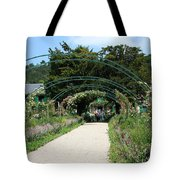 Monets Home And Garden Tote Bag