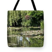 Monets Lilypond - Giverny Tote Bag