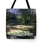 Monet's Water Garden Tote Bag